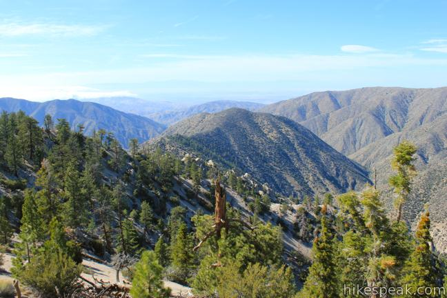 This 4.85-mile partial loop bags a summit and a scenic ridge in the high San Gabriel Mountains.