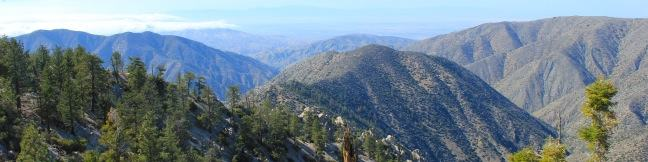 Winston Ridge and Winston Peak Trail Los Angeles hike San Gabriel Mountains Angeles National Forest California