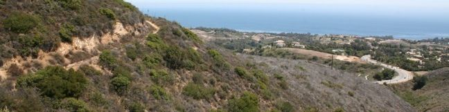 Zuma Canyon hike Malibu