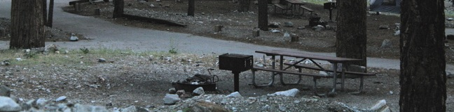 Manker Flats Campground San Gabriel Mountains camping Angeles National Forest