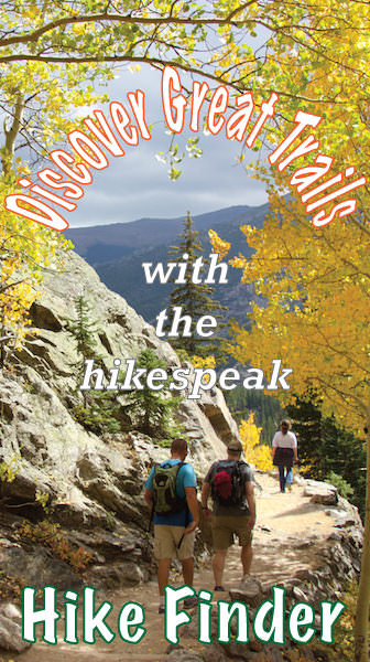 Find hikes on hikespeak.com