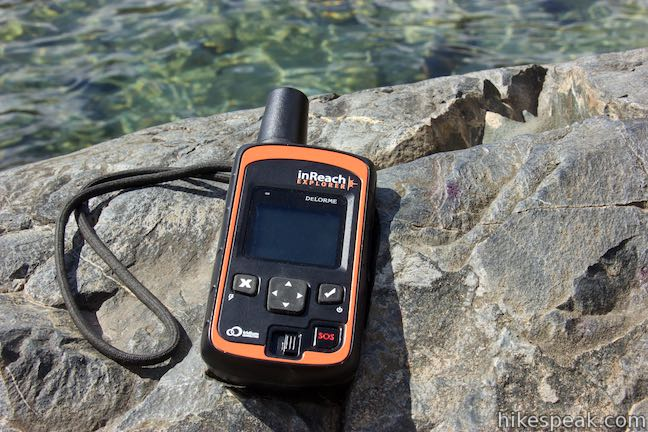 Garmin inReach Explorer - Map Page | Avoiding Chores